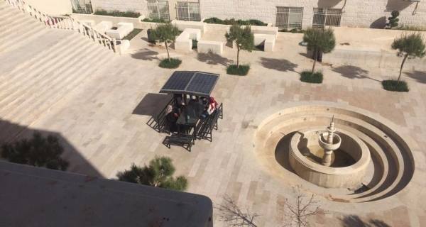 Solar mobile charging station in our ASU