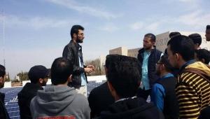 site visit ( students of Al- Balqa' Applied University (BAU)  )